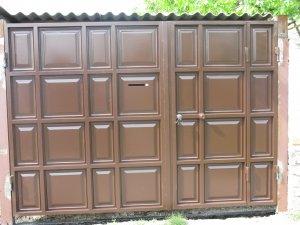 Филенка на ворота шоколадка ставропольский край