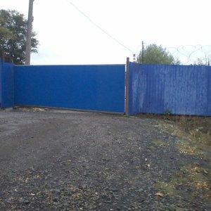 Промышленные откатные ворота ширина 8м.JPG